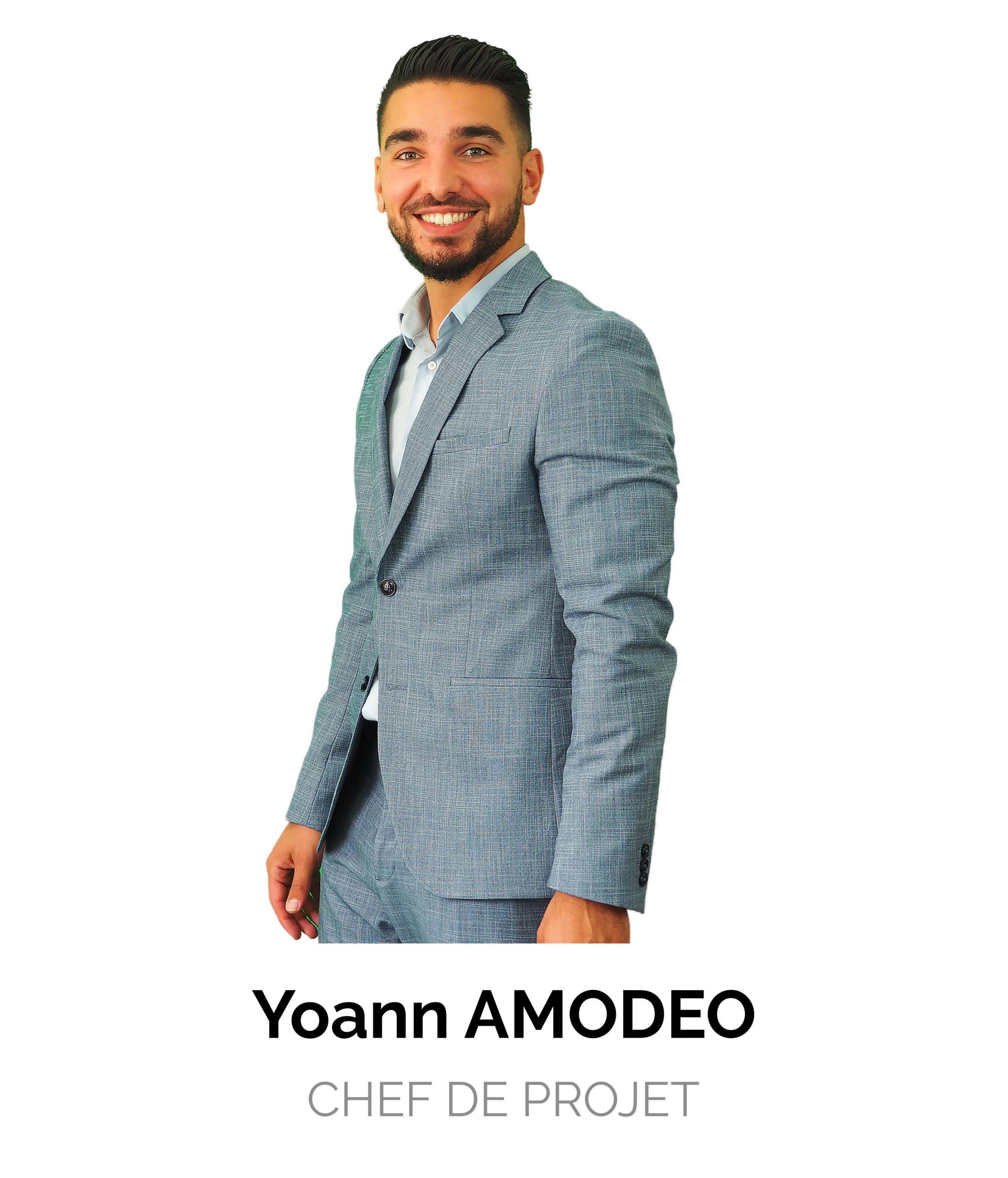 Yoann Amodeo Chef de Projet