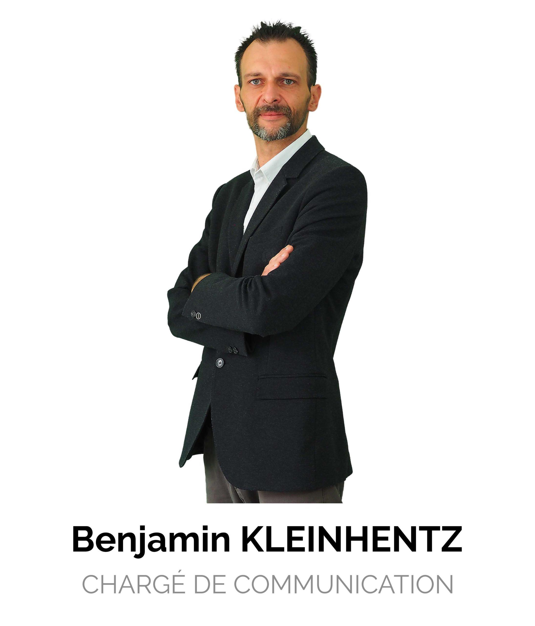 Benjamin Kleinhentz Chargé de Communication