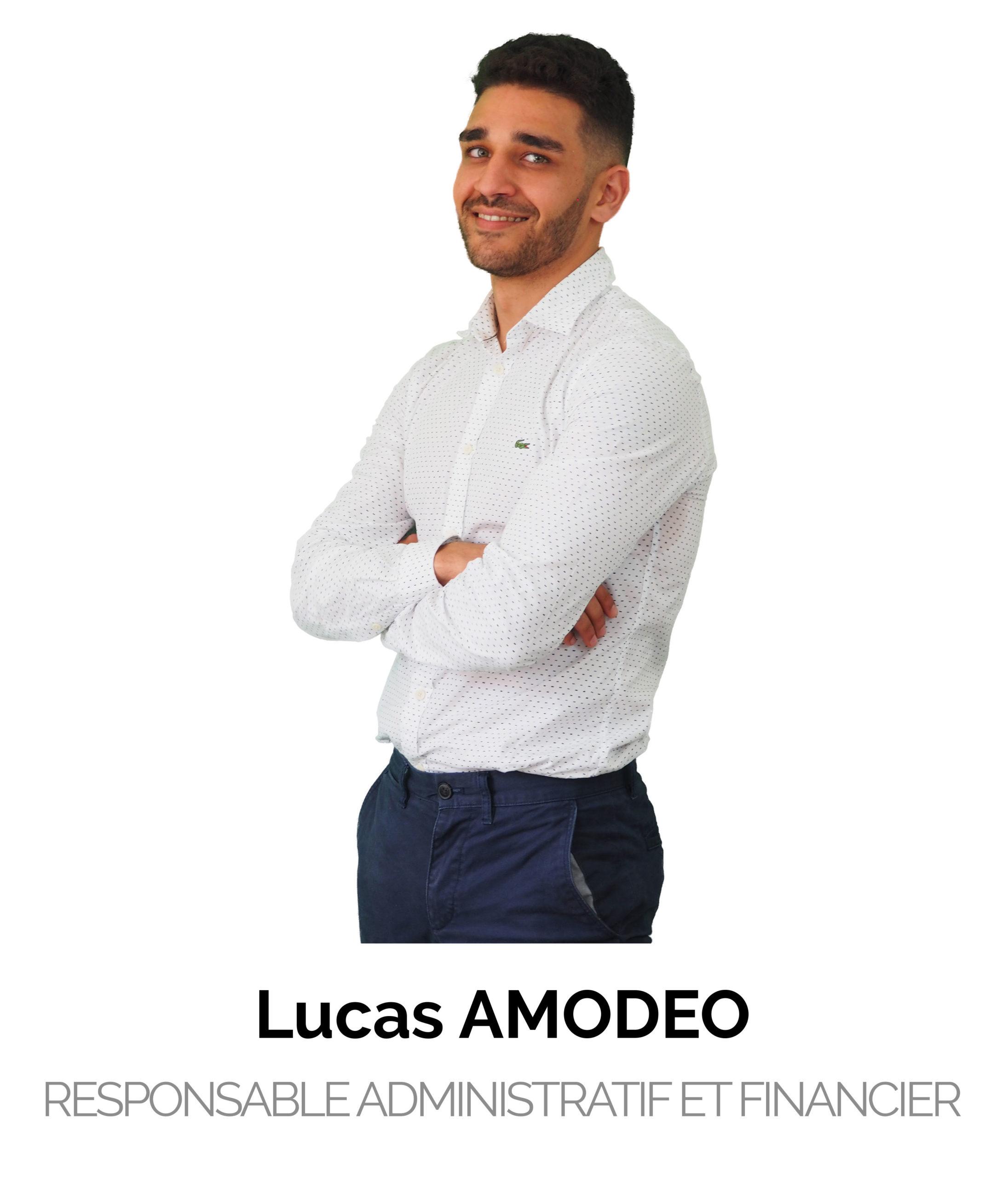 Lucas Amodeo Responsable Administratif et Financier
