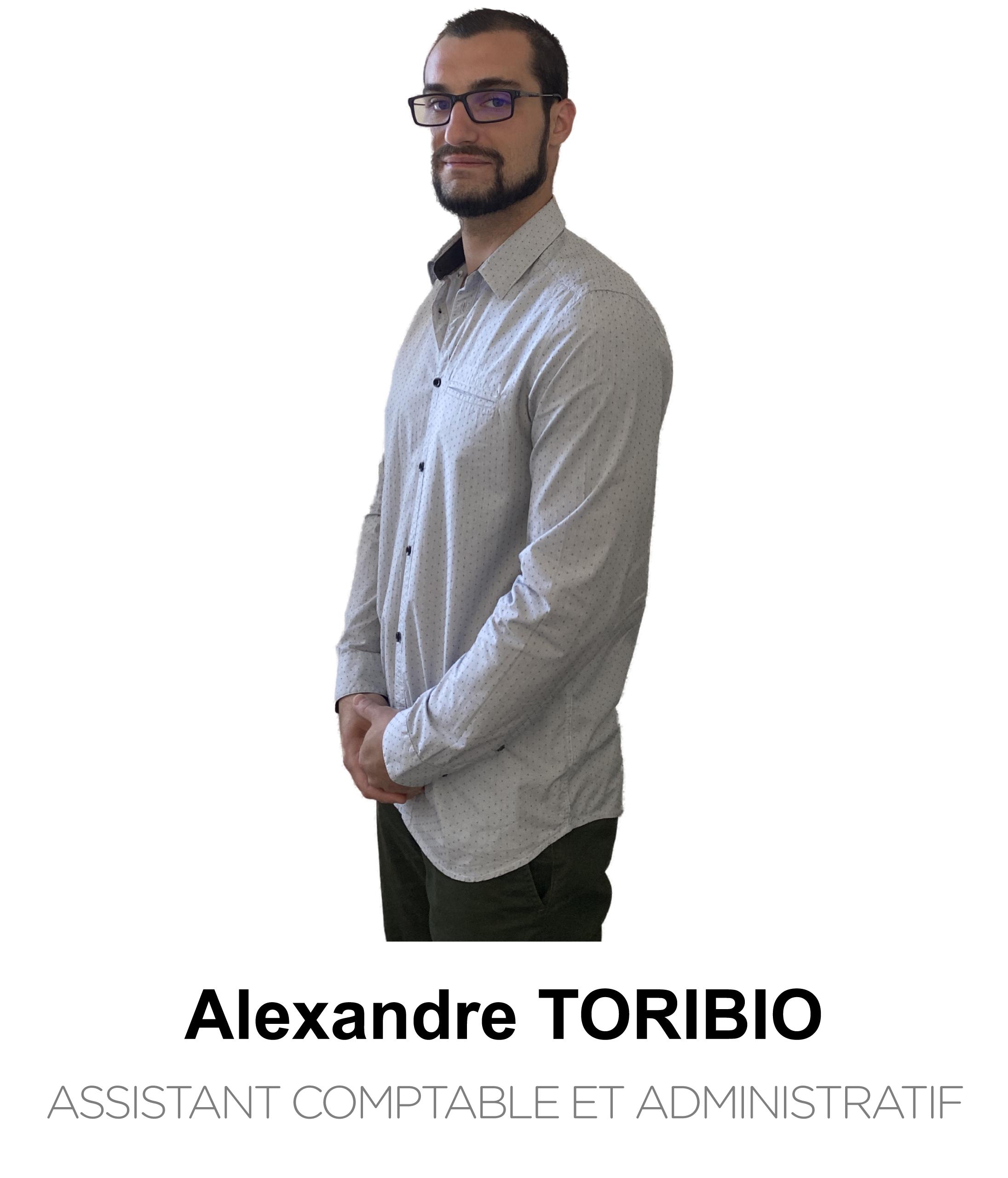 Alexandre Toribio Assistant comptable et administratif